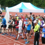 Start des 24-Stunden-Lauf in London-Tooting